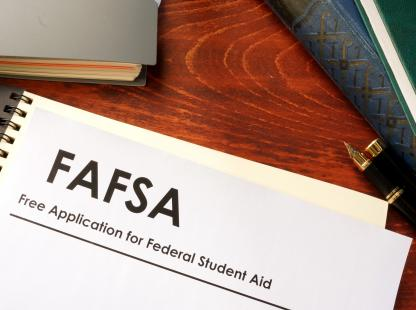 Photo FAFSA of related documentation